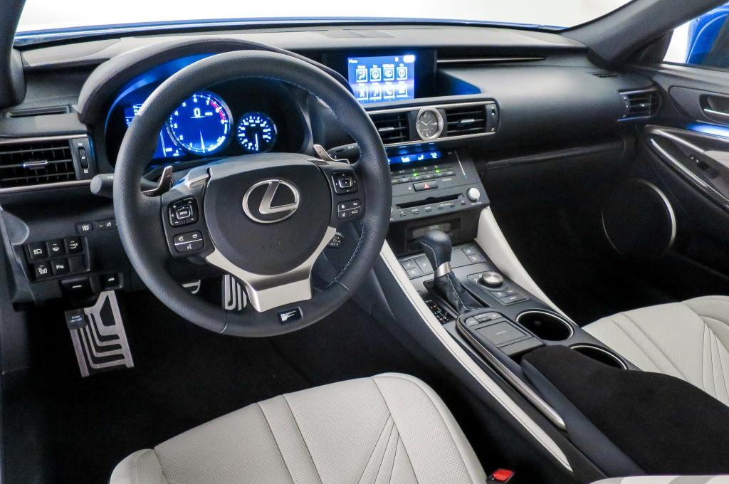 2015 Lexus RC-F - Interior View